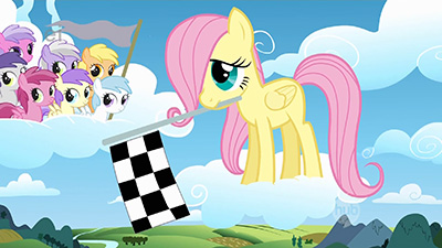Nopony tried to rescue Fluttershy when she fell. Did they just assume she'd fly back up? Or is it some kind of grim pegasus mentality to weed out weak fliers by letting them plummet to their doom, thereby strengthening the remaining brood..? Ugh, how can I talk about something so grim when there's such a cute filly Flutters here?