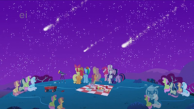The only way this scene could have been better would be if the background ponies weren't CTRL-C + CTRL-Ved.