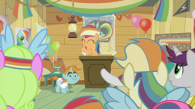 Pictured: an accurate depiction of nearly every brony convention I've been to.