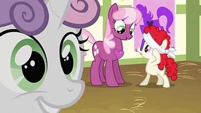 Silly filly, just because I don't have a Very Special Somepony doesn't mean I need to have a heart surgically implanted. Look, you're not even a doctor.