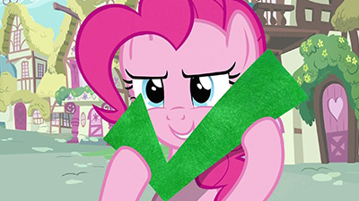 Cost-benefit analysis: an episode with a frustratingly over-the-top Pinkie to bring us the Smile Song? Check.