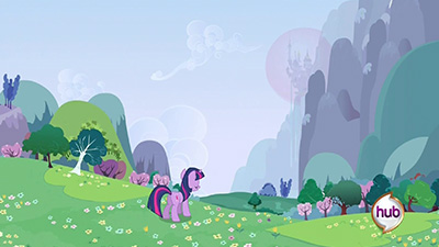 Some of the environmental scenes the guys and gals at DHX put together are just tops.