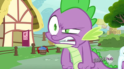 Hey, this episode is supposed to be about ME, not Fluttershy and Rainbow Dash!