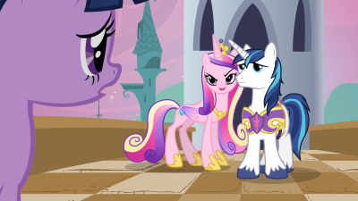 Two very important ponies that we've heard about multiple times since the beginning of the series.